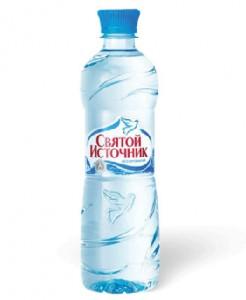 питьевая вода в бутылке