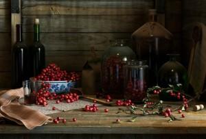 вино из брусники